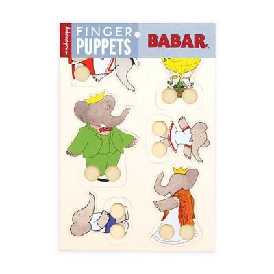 Babar Finger Puppets By Brunhoff, Laurent de (ILT)